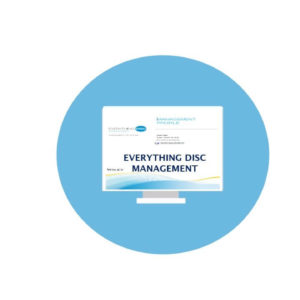 Everything DiSC Management Profile-English.  Contact for other languages.